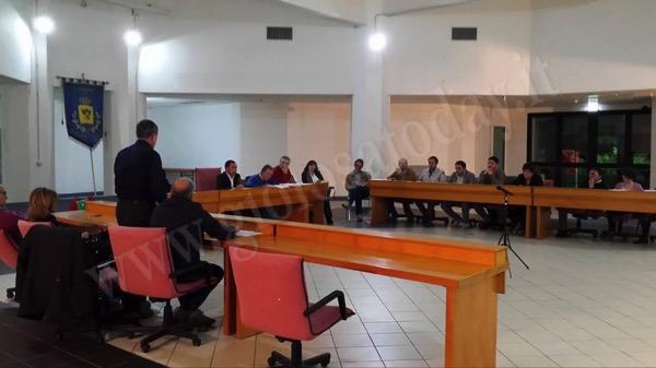 consiglio comunale Gioiosa Marea