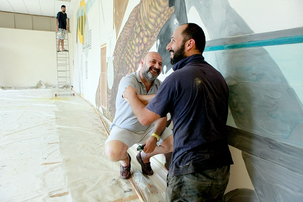 Hugo Canoilas e Mauro Cappotto a Ficarra