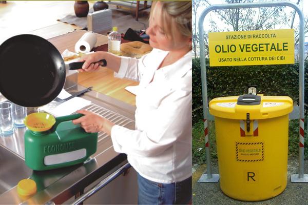 Come smaltire e riciclare correttamente l olio esausto della frittura