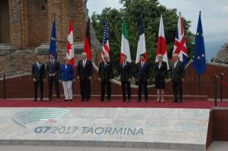 G7 foto ufficiale