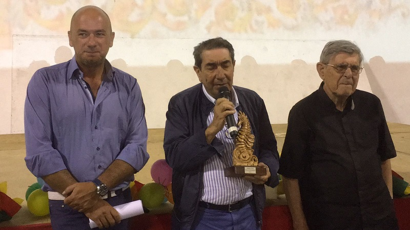 Da sinistra_ Francesco De Luca , Ignazio Vasta, Mons. Salvatore Cingari