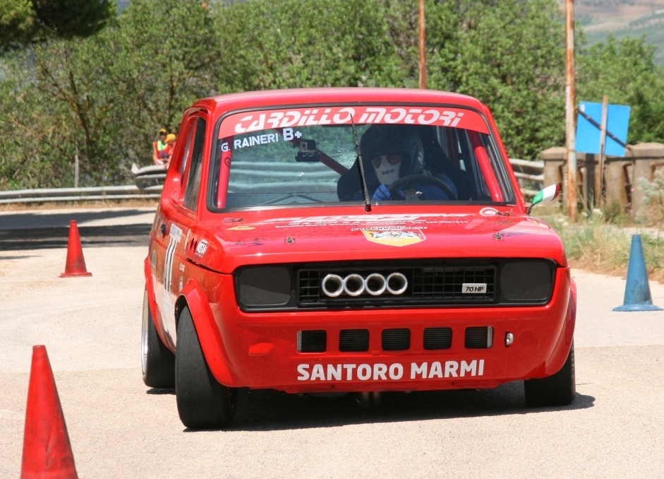 AB Giuseppe Raineri (Fiat 127 Sport 70 hp)