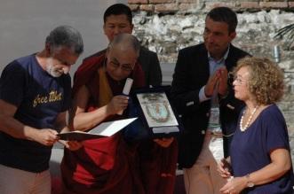 Dalai Lama 1 a Taormina