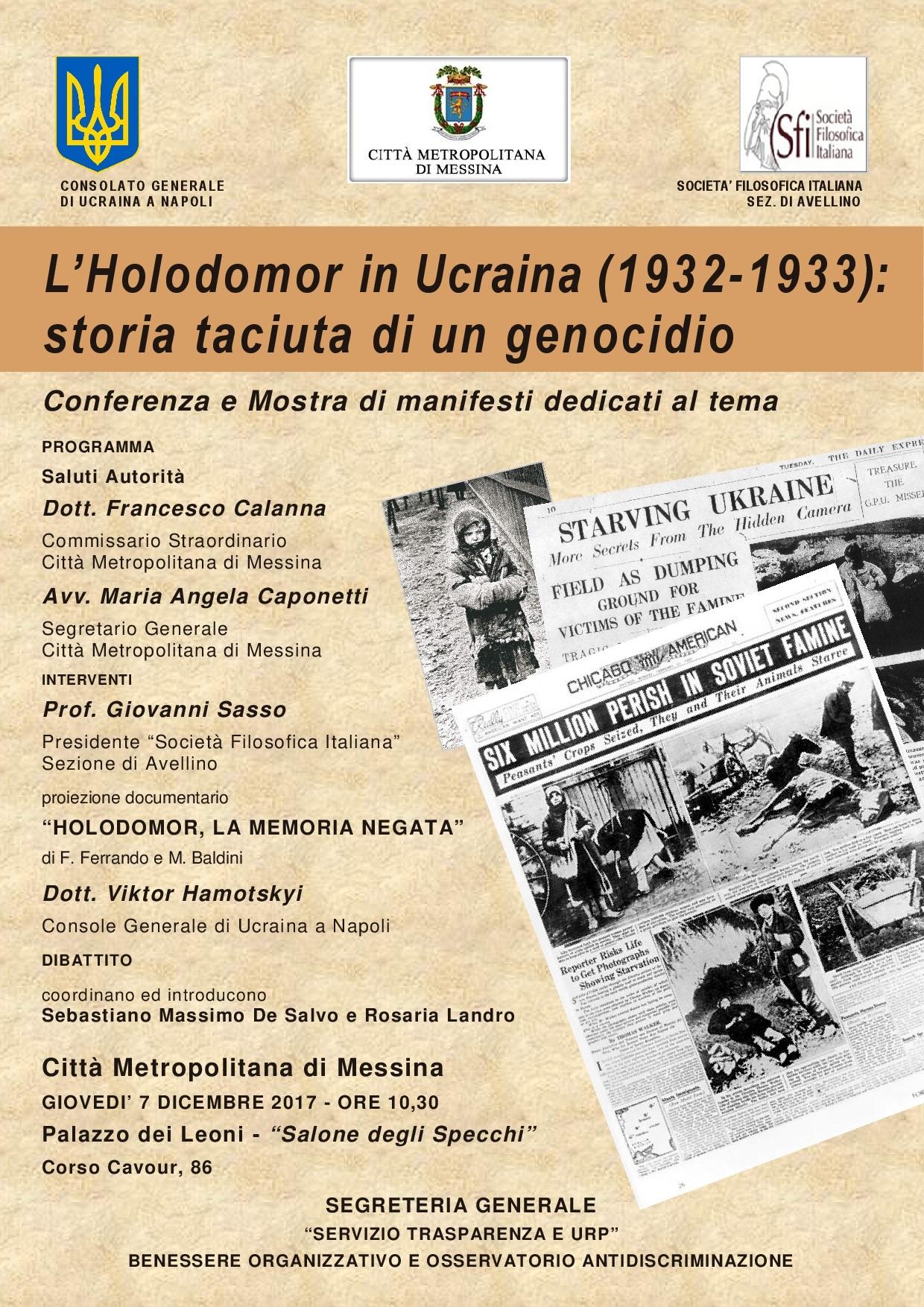 Locandina Holodomor