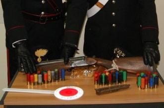 Armi sequestrate San Fratello