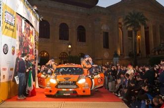 Simone Campedelli, Pietro Elia Ometto (Ford Fiesta R5 #2, Orange1 Racing)