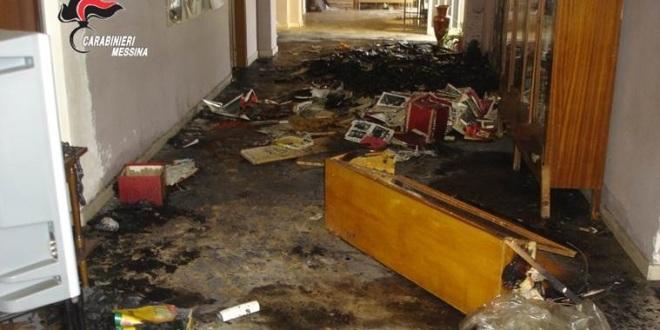 immagine repertorio incendio scuola