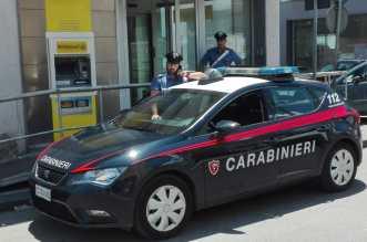 Carabinieri presso Poste via san Cosimo (1)
