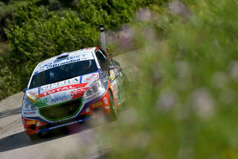 Tommaso Ciuffi, Niccolo Gonnella (Peugeot 208 R2 #28, CST Sport)
