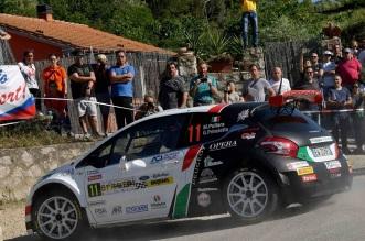 Marco Pollara, Giuseppe Princiotto (Peugeot 208 T16  R5 #11, FPF Sport)