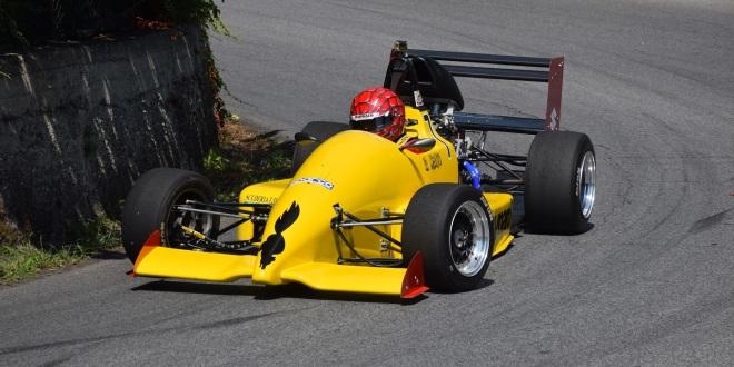 Rosario Miano su Reynard 903 allo Slalom San Piero Patti