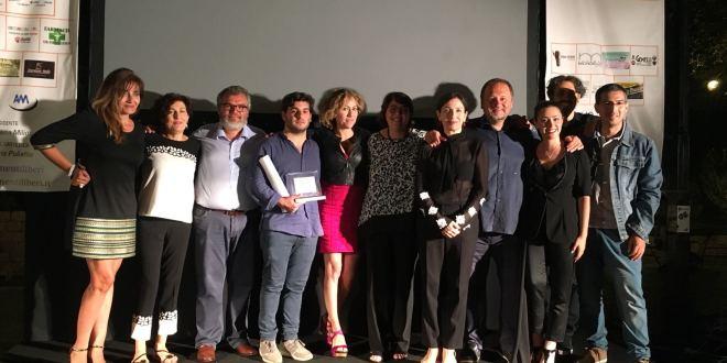 foto 6 giuria associazione e primo premiato in corto 2018