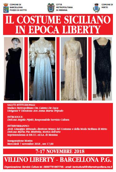 Il costume Liberty locandina