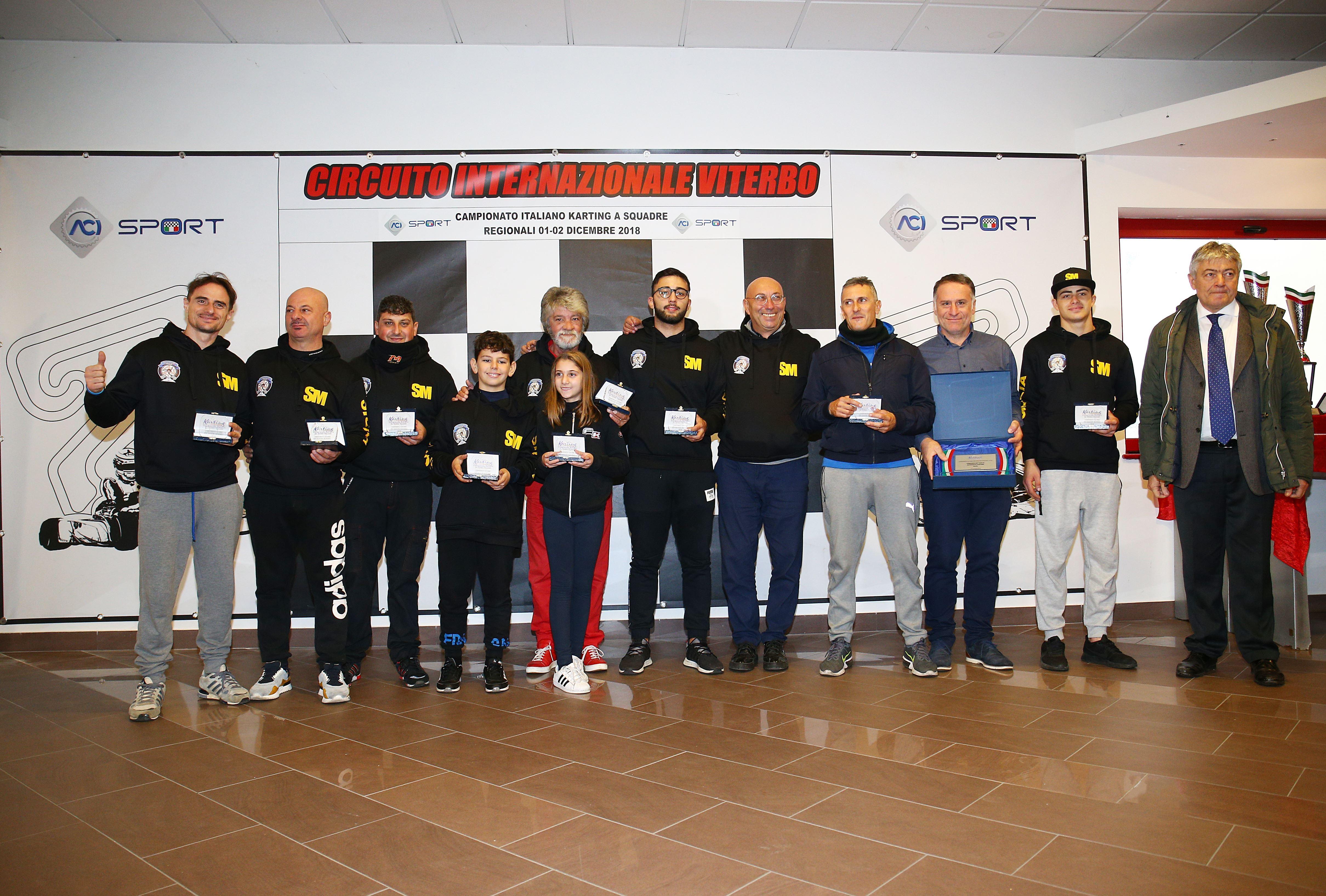Premiazione Squadra Sicilia