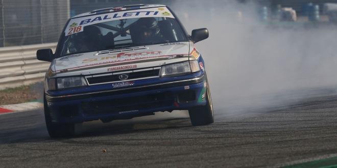 Riolo Rappa su Subaru a Monza