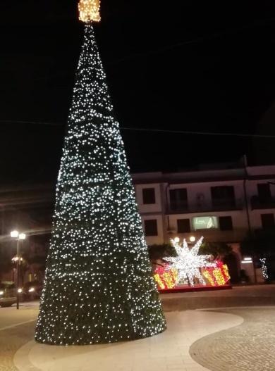 albero luci