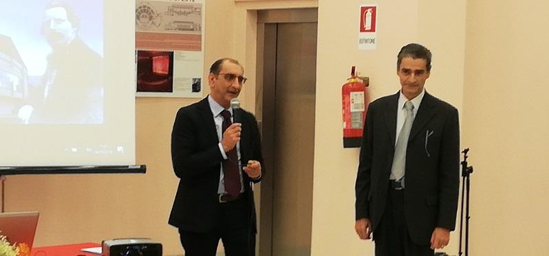 Da sinistra il sindaco Materia e l'esperto Mercadante (1)