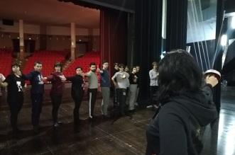 Scherma al laboratorio per D'Artagnan