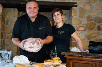 Giuseppe Oriti con la moglie Eliana2