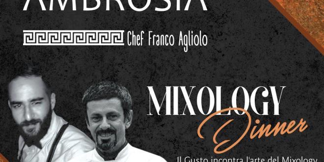 Locandina Mixology Dinner