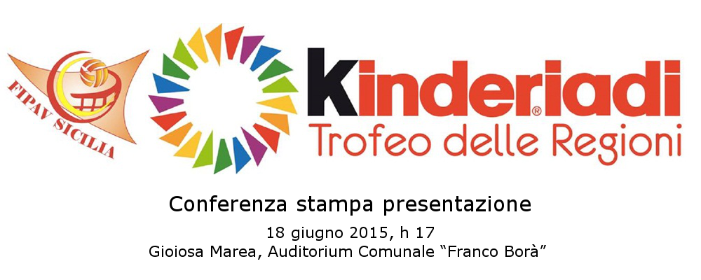 Kinderiadi 2015 - Conferenza Stampa Gioiosa Marea