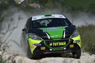 Marco Pollara, Giuseppe Princiotto (Peugeot 208 R R2B #42, Cst Sport Srl)