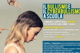 Bullismo e Cyberbullismo a Scuola locandina2