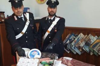 Merce sequestrata dai Carabinieri