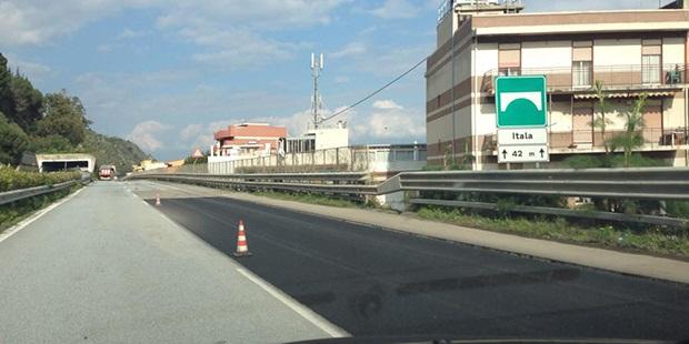 autostrada messina catania