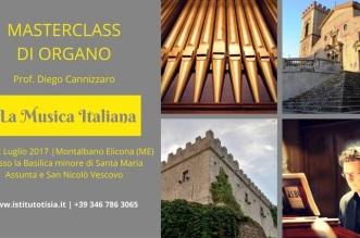 locandina masterclass di organo