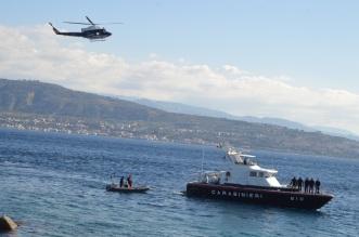 Esercitazione congiunta Elicottero Motovedetta Subacquei - 1