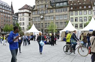 Strasbouorg célèbre l'EuropeStrasbourg celebrates Europe