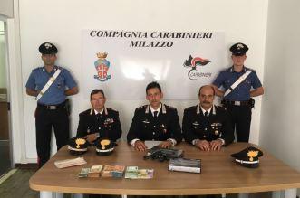 Foto conferenza con refurtiva ed armi (1)