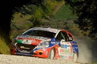 Tommaso Ciuffi, Nicolo Gonella (Peugeot 208 R2 #36, Jolly Racing Team)