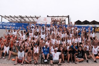 Foto di gruppo volontari