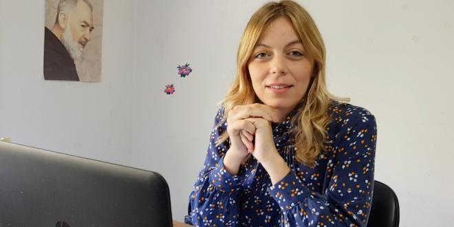 Dott.ssa Giusy Germanò Assistente Sociale del Comune di Gioiosa Marea