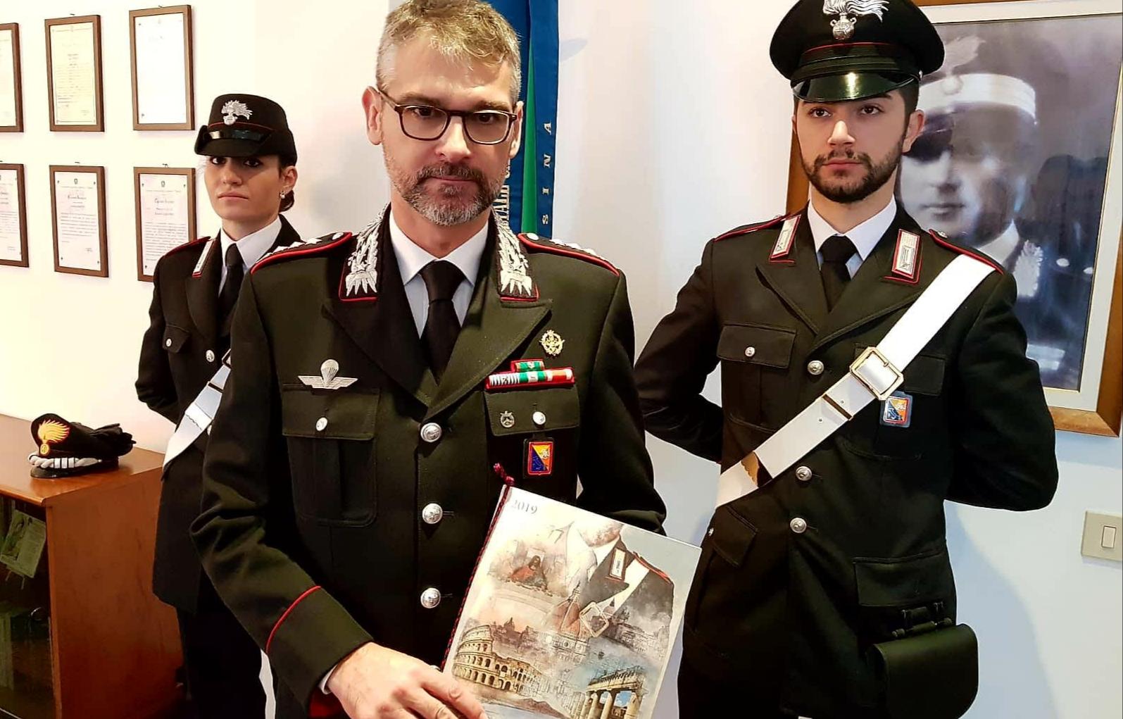 Calendario Storico Carabinieri 2019.Presentazione Del Calendario Storico 2019 Dell Arma Dei