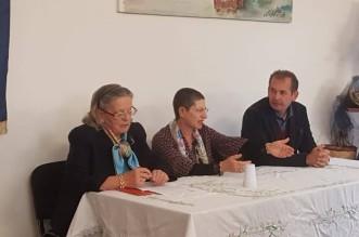 da sx Flora Bombarda Salleo, Enza Mola, Michele Isgrò