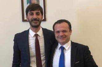 On. Villarosa e sindaco Cateno De Luca