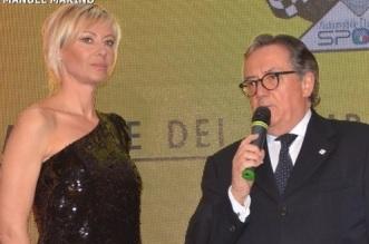 Presentatrice Camilla Ronchi e Minardi