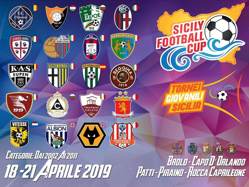 LOCANDINA SICILY FOOTBALL CUP