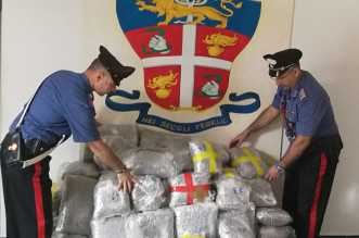 CC Terme Vigliatore droga sequestrata