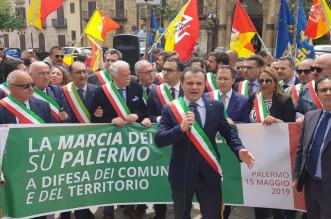 La marcia a Palermo