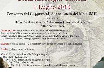 Bioarcheologia locandina