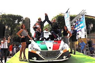 Princiotto e Pollara su Peugeot