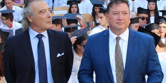 Il preside Stello Vadalà e il dott. Marco Duspiva 2