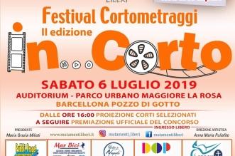 locandina festival in corto 2019