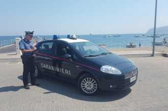 controlli Carabinieri lungomare Patti
