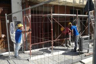 Lavori edificio Corso Vittorio Emanuele2