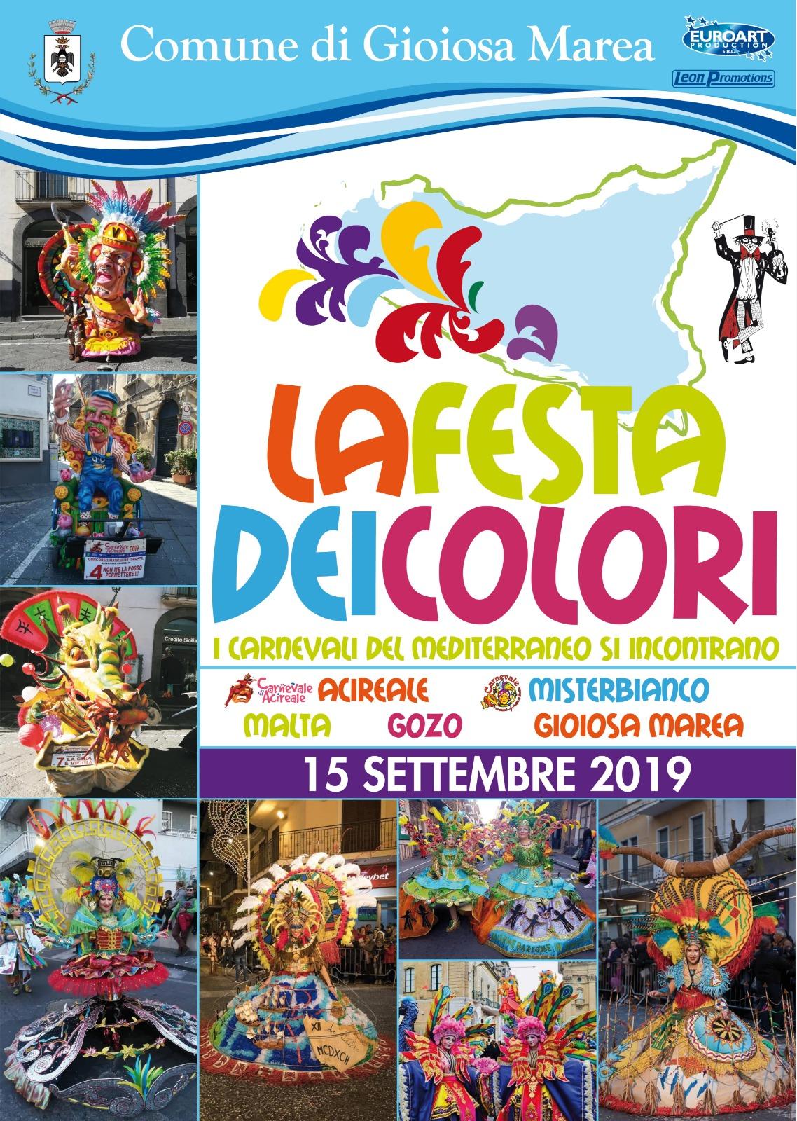Manifesto Festa dei colori